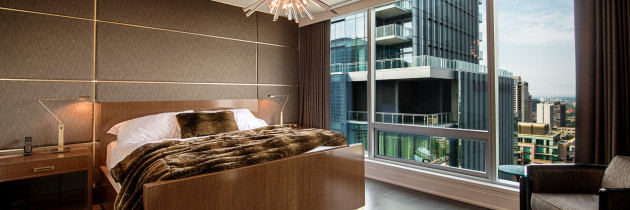 Custom Furniture: Four Seasons Residence